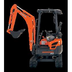 Kubota U17-3 Mini Excavator (1.7T) ZERO SWING
