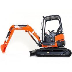 Kubota U27-4 Mini-excavator (2.5T) ZERO SWING