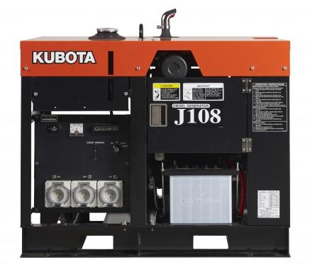KUBOTA J108 GENERATOR (8 KVA)