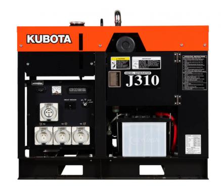 KUBOTA J310 (10KVA)