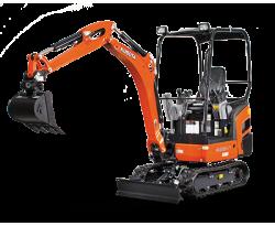 Kubota KX Series Excavator (Conventional Swing)